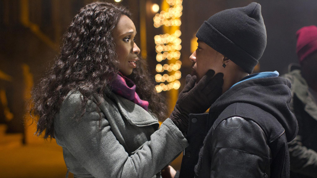"Jennifer Hudson and Jacob Latimore in ""Black Nativity"""