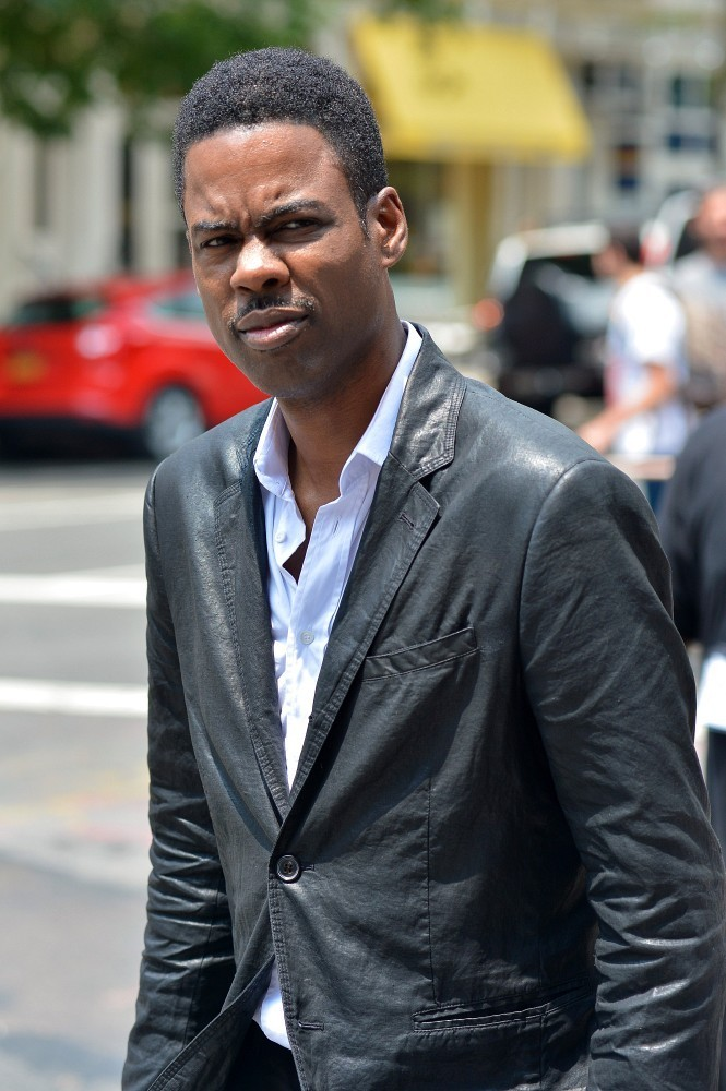 Chris Rock film 'Finally Famous' in New York City on June 27, 2013