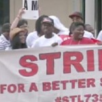 Fast Food Workers Stage Protest for Higher Wages in Seven Different States (Video)