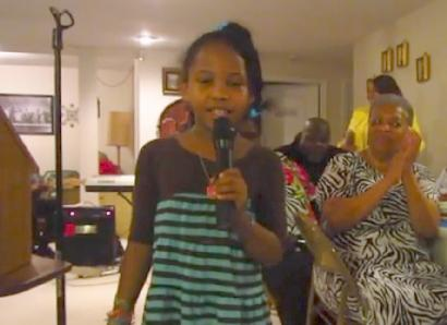harmony love bailey singing
