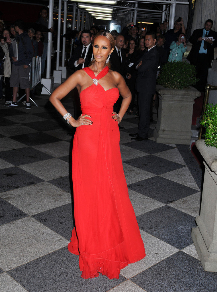 Supermodel Iman is 58 today