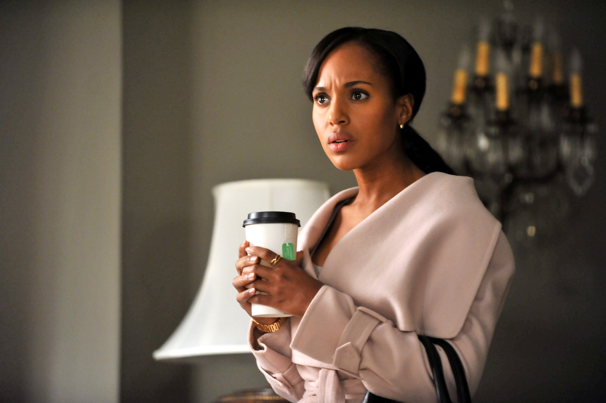 """Kerry Washington in a scene from ABC's """"Scandal"""""""