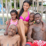 Monday Snaps: Kevin Hart, His Dad, His Kids, His Ex-Wife & His Girlfriend …