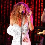 Injured Mariah Performs MLB Concert in 'Fanciful' Arm Slings