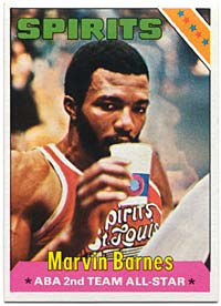 marvin barnes card