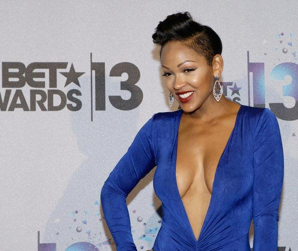meagan good (bet awards dress)