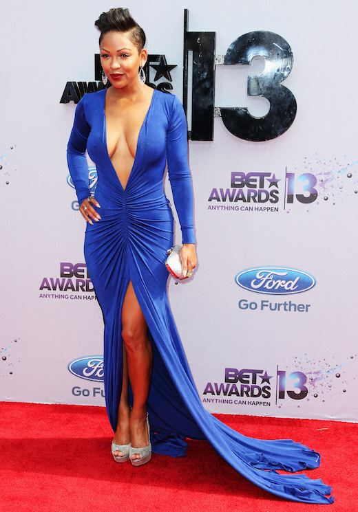 megan good (bet awards dress)