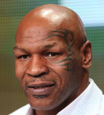 mike tyson close