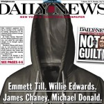 NY Daily News Shows Empty Hoodie on Front Page