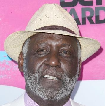 richard roundtree (straw hat)
