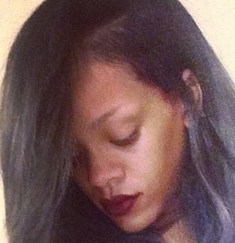 rihanna gray hair