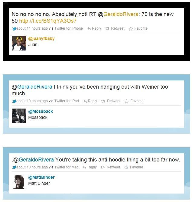 rivera twitter responses