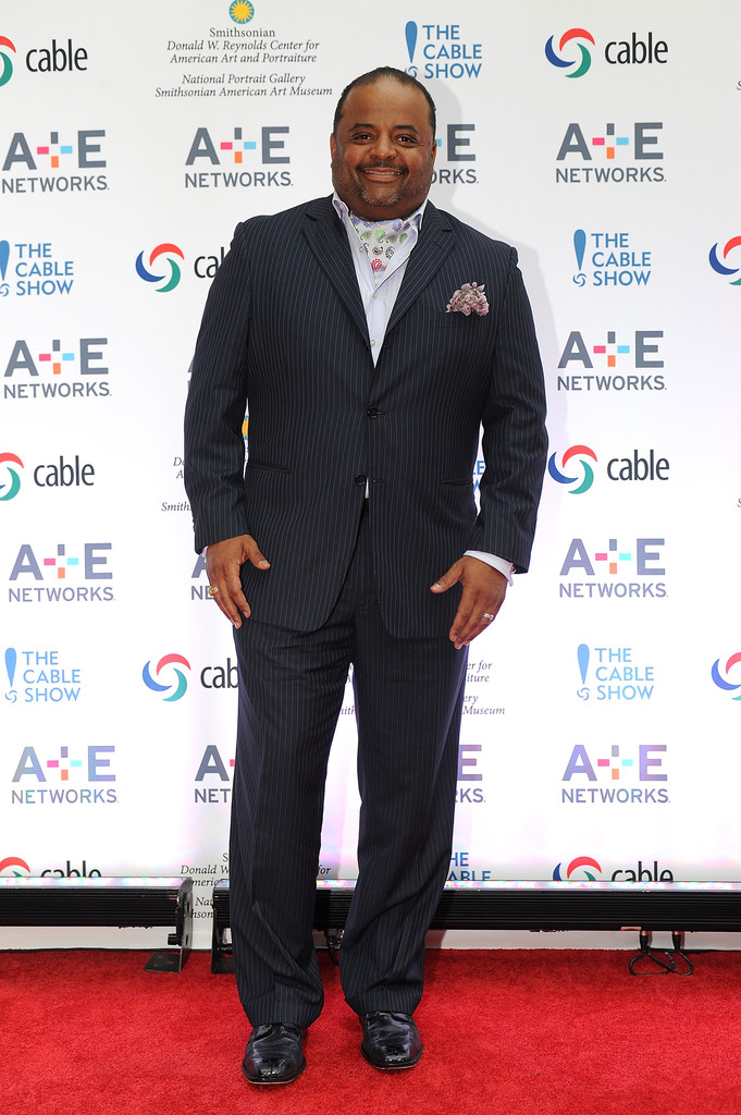 Roland Martin attends the A+E hosted NCTA Chairman's Reception at the Smithsonian American Art Museum & National Portrait Gallery on June 11, 2013 in Washington
