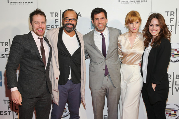 "Sam Rockwell, Jeffrey Wright, Director David Rosenthal, Kelly Reilly and Heather Lind attend the Tribeca Film Festival 2013 after party for ""A Single Shot"" sponsored by Heineken on April 26, 2013 in New York City"