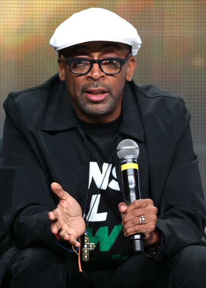 "Director Spike Lee speaks onstage during the ""Mike Tyson: Undisputed Truthts"" panel discussion at the HBO portion of the 2013 Summer Television Critics Association tour - Day 2 at the Beverly Hilton Hotel on July 25, 2013 in Beverly Hills"