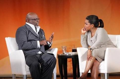 td jakes & oprah