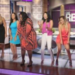 EUR at Taping of 'The Real: Hosts Chat Tamar's Post Baby Body & Twerk for Ya