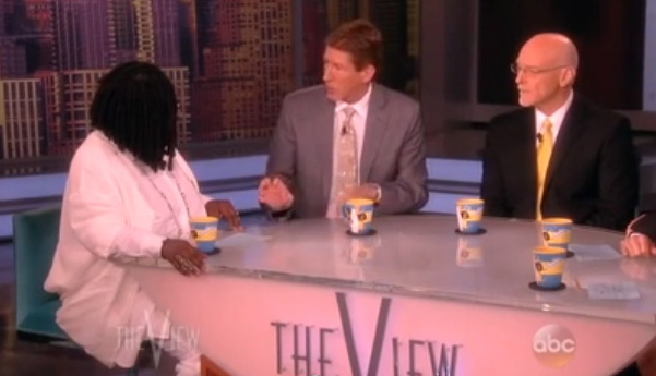 "Whoopi Goldberg, Mark O'Mara and Don West on ""The View"" (July 15, 2013)"