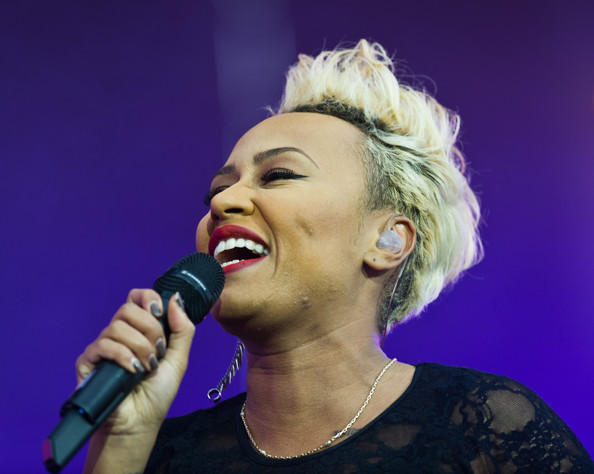Emeli Sande performs on day 2 of the Isle of Wight Festival at Seaclose Park on June 14, 2013 in Newport, Isle of Wight