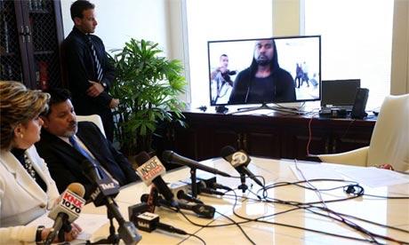 Gloria Allred, Daniel Ramos and Kanye West