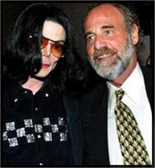 Michael Jackson and Dr. Allan Metzger
