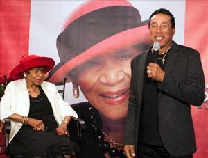 Smokey Honors Maxine Powell