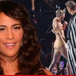 Paula Not Mad at Miley For Gyrating All Over Robin at VMAs
