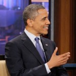 Pres. Obama Talks Hillary, Russia, Trayvon on 'Leno' (Clips)