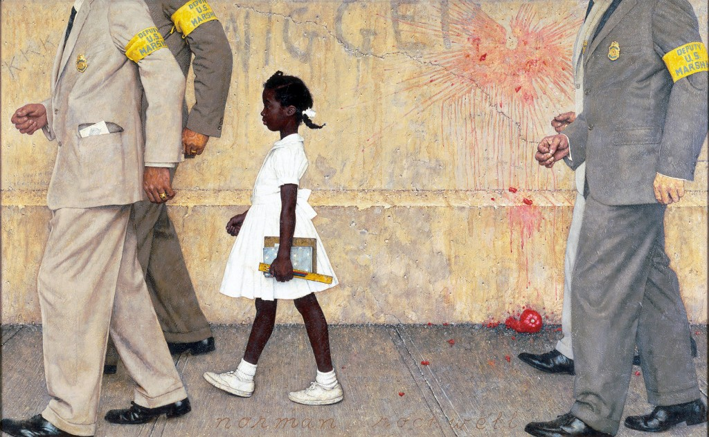 """Norman Rockwell's """"The Problem We All Live With"""""""
