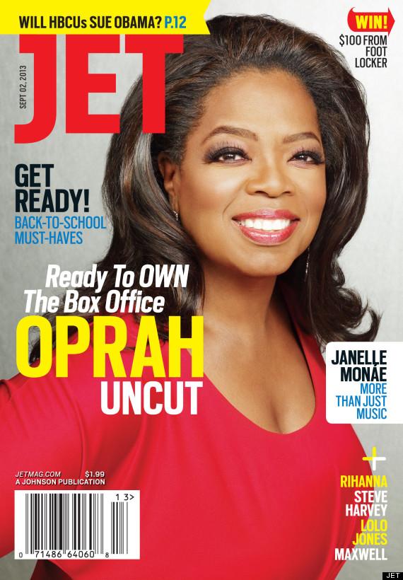 jet mag - oprah winfrey - august 12, 2013