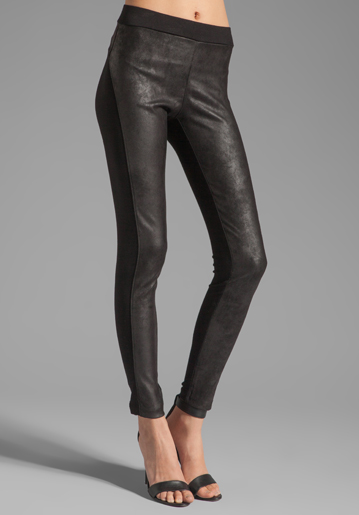 Ponti with faux leather pant by velvet (revolveclothing.com) $79