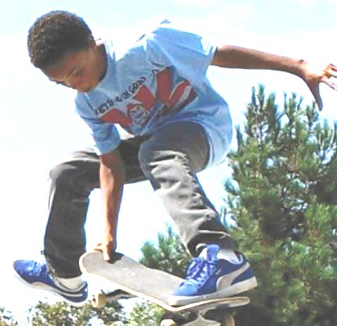Michael Jones - Skateboard