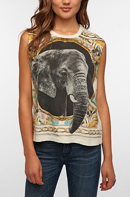 Truly Madly Deeply Elephant Scarf (Urban Outfitters) $19