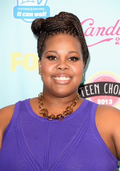Actress Amber Riley, winner of Choice TV Show: Comedy for 'Glee,' attends the Teen Choice Awards 2013 at Gibson Amphitheatre on August 11, 2013 in Universal City