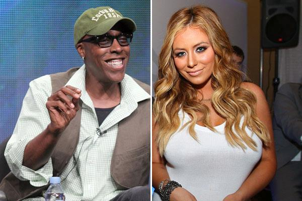 arsenio hall & aubrey oday