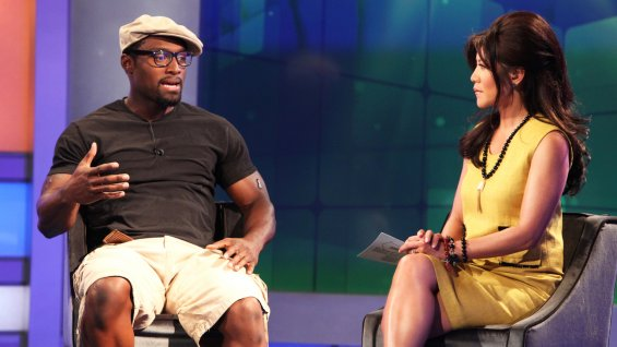 """""""Big Brother"""": Howard Overby talks to host Julie Chen (Aug 1, 2013)"""
