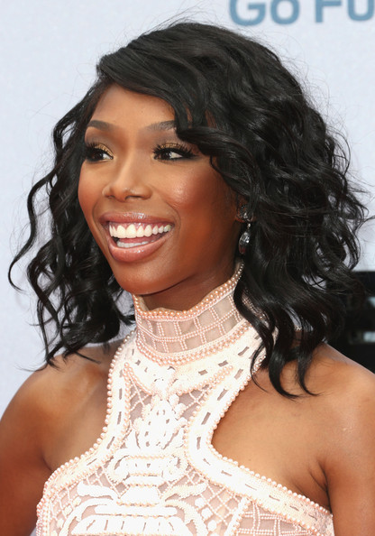 Actress/singer Brandy Norwood attends the 2013 BET Awards at Nokia Theatre L.A. Live on June 30, 2013 in Los Angeles