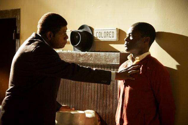 """Forest Whitaker and David Oyelowo in a scene from """"Lee Daniels' The Butler"""""""