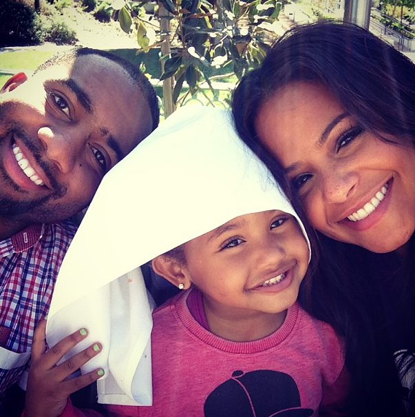 christina milian daughter and jas prince