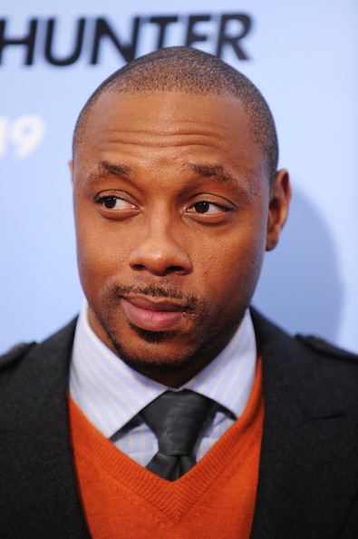 """Actor Dorian Missick attends the premiere of """"The Bounty Hunter"""" at Ziegfeld Theatre on March 16, 2010 in New York"""
