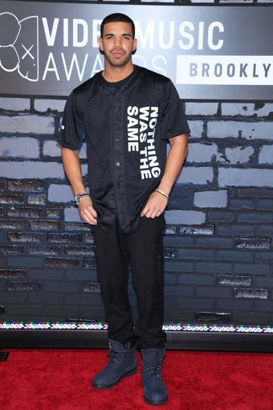 Drake attends the 2013 MTV Video Music Awards at the Barclays Center in the Brooklyn borough of New York City