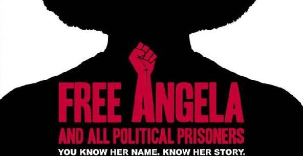 free angela (fist-poster)