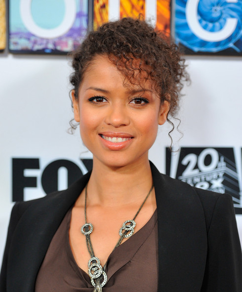 "Actress Gugu Mbatha-Raw arrive to a special screening of Fox's ""Touch"" at Leonard H. Goldenson Theatre on April 23, 2012 in North Hollywood"