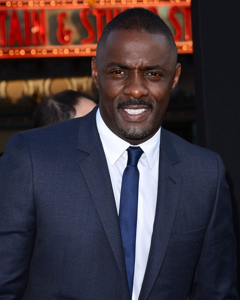 Idris Elba at the Los Angeles premiere of 'Pacific Rim' held at the Dolby Theatre in Hollywood, Los Angeles. (July 9, 2013)