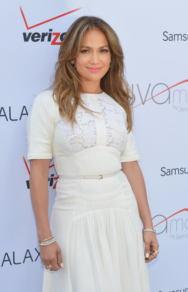 Jennifer Lopez attends Viva Movil By Jennifer Lopez Flagship Store Opening at Viva Movil on July 26, 2013 in New York City