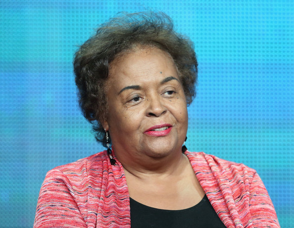 """Field secretary for the SNCC and March participant Joyce Ladner speaks onstage during """"The March"""" panel discussion at the PBS portion of the 2013 Summer Television Critics Association tour at the Beverly Hilton Hotel on August 5, 2013 in Beverly Hills"""
