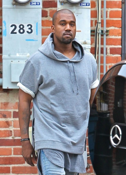 Rapper and new dad Kanye West goes furniture shopping in Beverly Hills on July 11, 2013