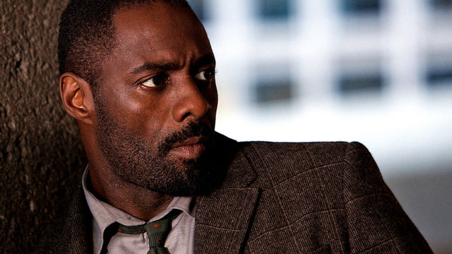 "Idris Elba as Det. John Luther in BBC and BBC America's ""Luther"""