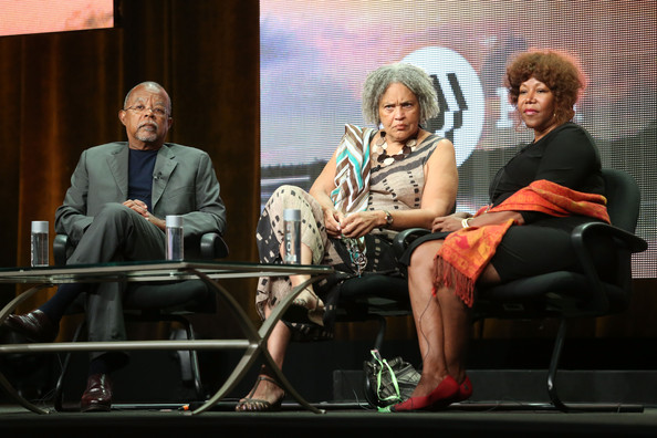 (L-R) Executive producer/writer Henry Louis Gates, Jr., journalist Charlayne Hunter-Gault and civil rights icon Ruby Bridges speak onstage during 'The African Americans: Many Rivers to Cross with Henry Louis Gates, Jr.' panel discussion at the PBS portion of the 2013 Summer Television Critics Association tour at the Beverly Hilton Hotel on August 7, 2013 in Beverly Hills