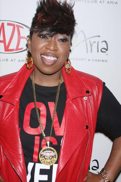 Rapper Missy Elliott hosts the evening at HAZE Nightclub in Las Vegas. (May 16, 2013)
